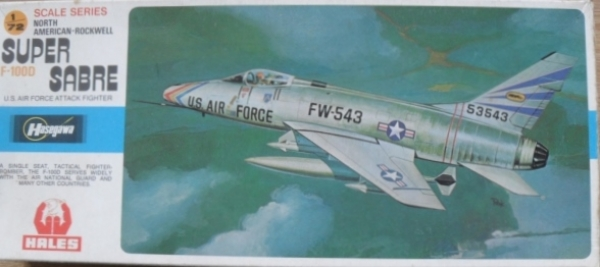 JS-035 NORTH AMERICAN F-100D SUPER SABRE