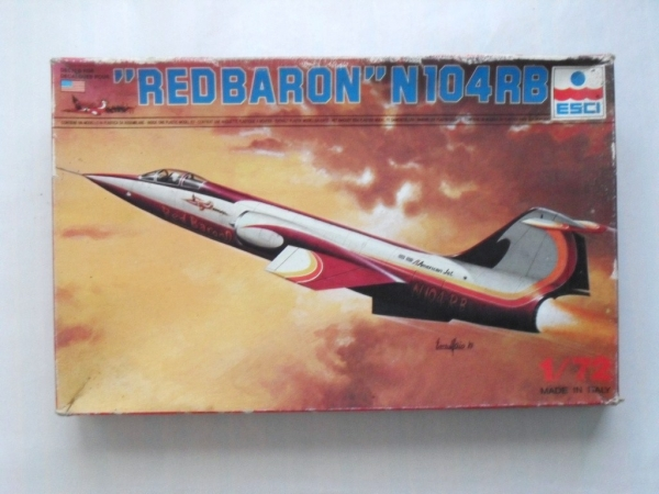 9037 F-104 RED BARON