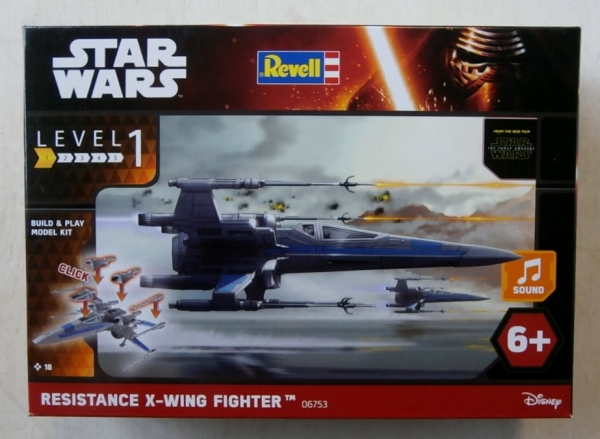 06753 STAR WARS RESISTANCE X WING FIGHTER