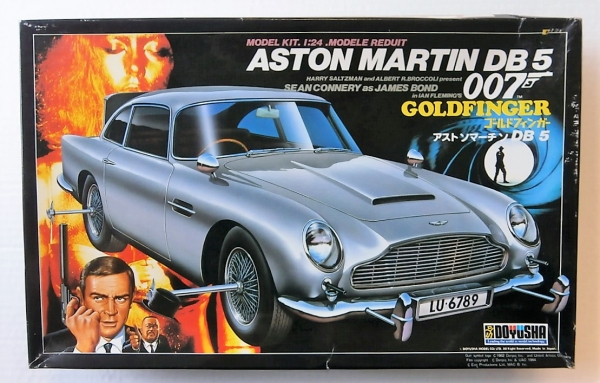 DOYUSHA ASTON MARTIN DB GOLDFINGER Model Kit - Aston martin db5 kit car