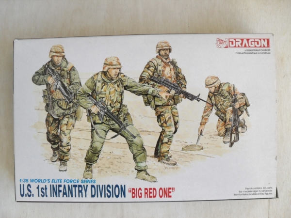 3015 US 1st INFANTRY DIVISION BIG RED ONE