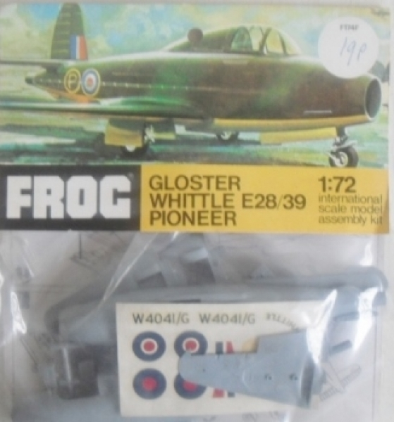 F174F GLOSTER WHITTLE E28/39 PIONEER