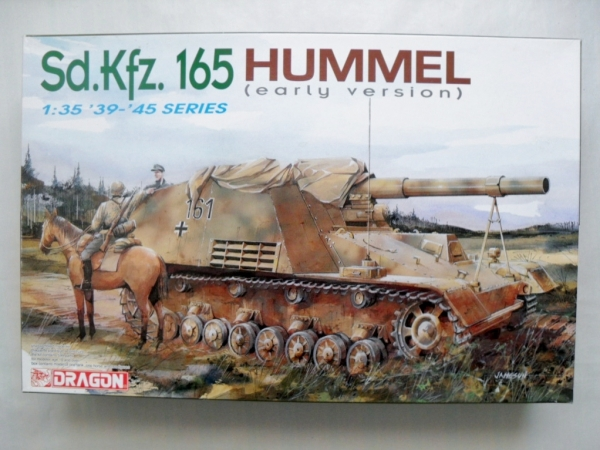 6204 Sd.Kfz.165 HUMMEL EARLY VERSION