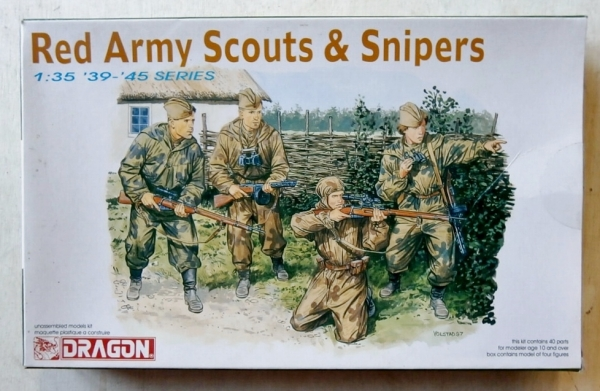 6068 RED ARMY SCOUTS   SNIPERS