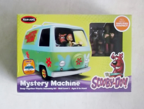 POLAR LIGHTS 901 SCOOBY DOO MYSTERY MACHINE