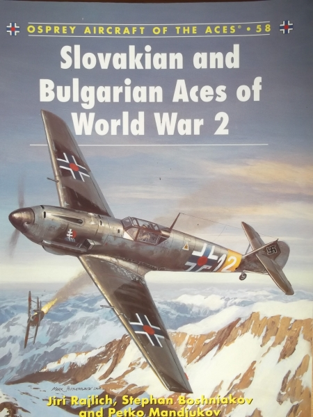 058. SLOVAKIAN   BULGARIAN ACES OF WORLD WAR 2