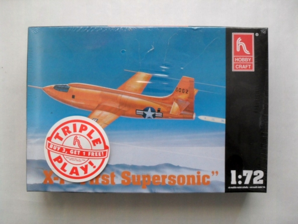 1366 BELL X-1 FIRST SUPERSONIC