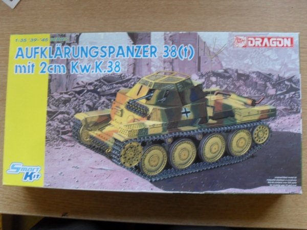6294 AUFKLARUNGSPANZER 38 t  WITH 2cm