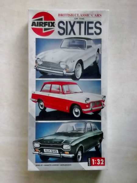 07900 BRITISH CLASSIC CARS OF THE SIXTIES