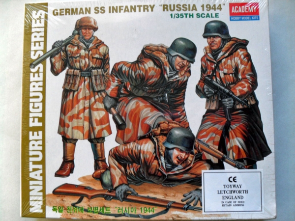 1378 GERMAN SS INFANTRY RUSSIA 1944