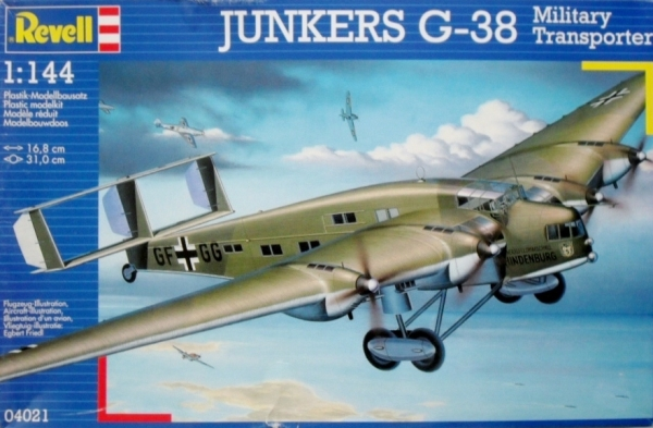 04021 JUNKERS G-38 MILITARY TRANSPORT