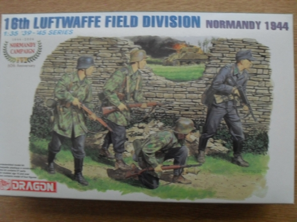 6241 16th LUFTWAFFE FIELD DIVISION NORMANDY 1944
