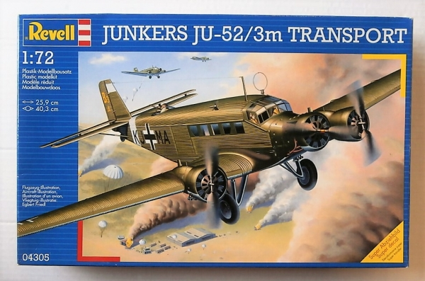 04305 JUNKERS Ju-52/3M TRANSPORT