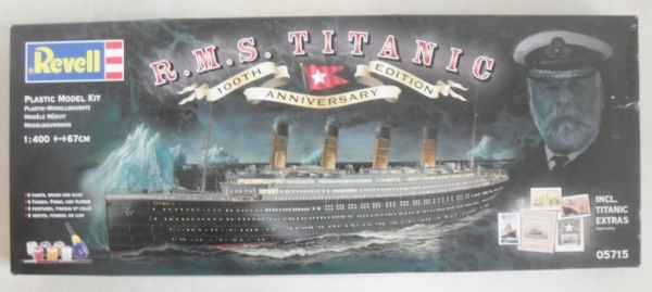 REVELL 1/400 05715 RMS TITANIC 100th ANNIVERSARY GIFT SET (UK SALE ONLY)