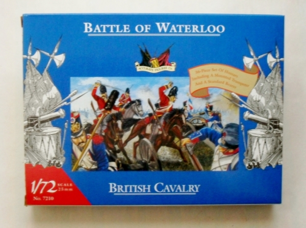 7210 WATERLOO BRITISH CAVALRY