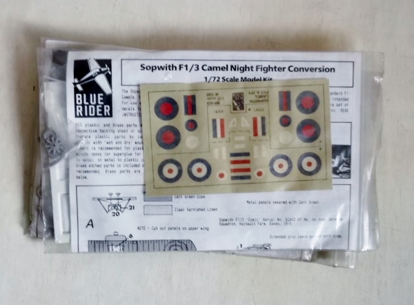 103 SOPWITH F1/3 CAMEL NIGHT FIGHTER CONVERSION