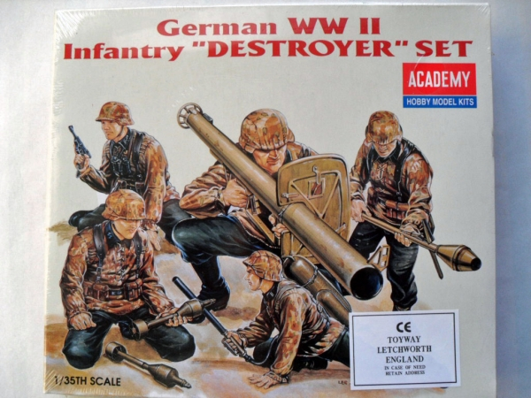 1370 GERMAN INFANTRY DESTROYER SET