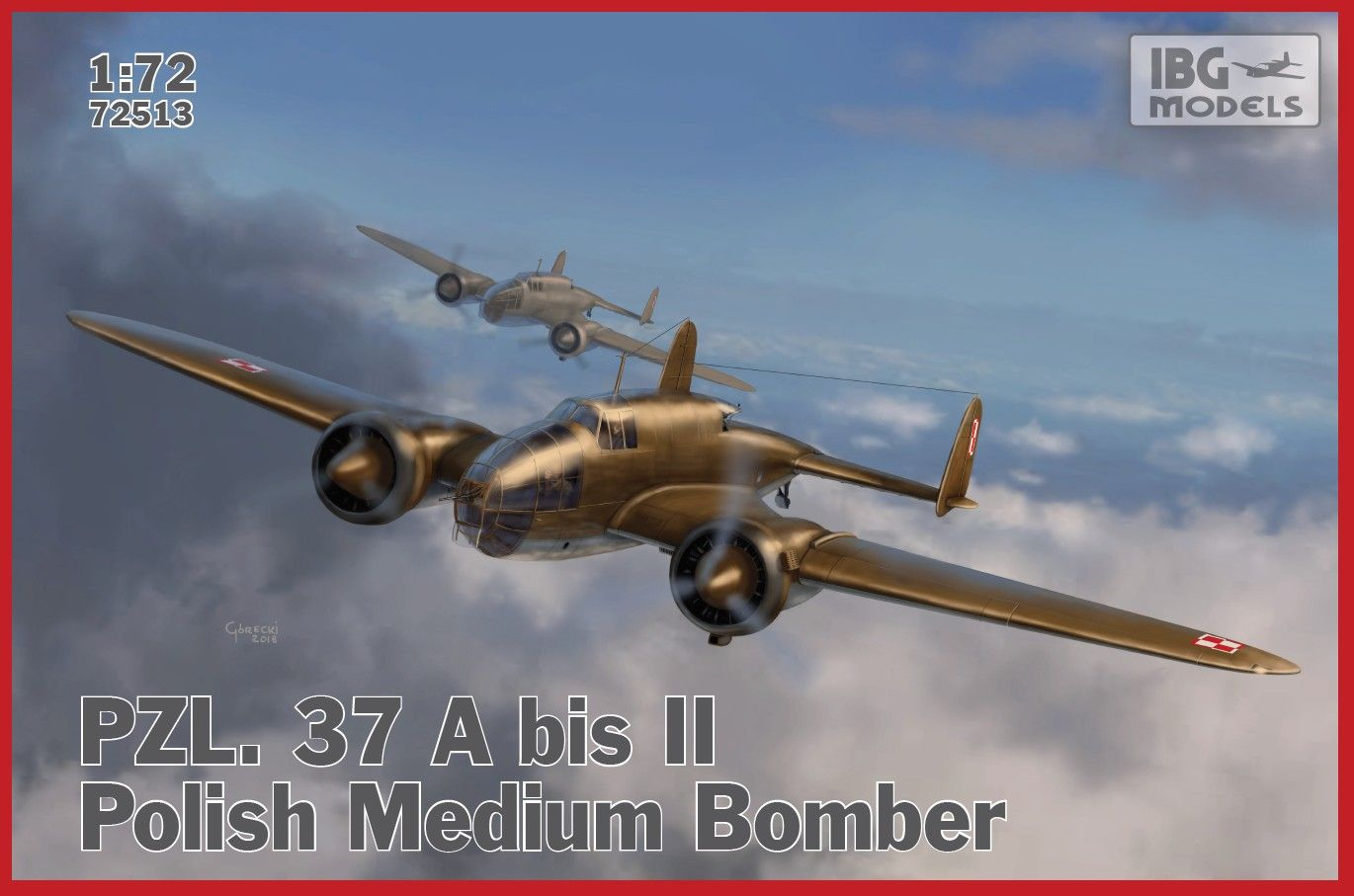 72513 PZL.37 A bis II LOS POLISH MEDIUM BOMBER