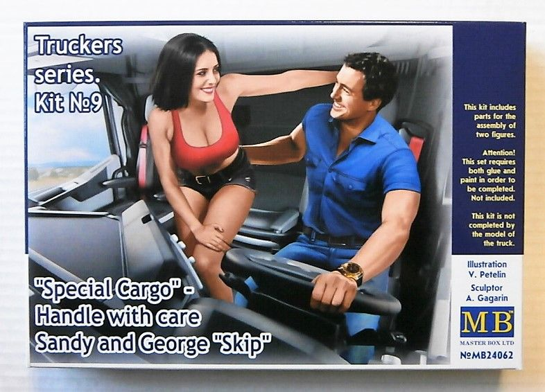 24062 TRUCKER SERIES KIT No 9 SPECIAL CARGO HANDLE WITH CARE SANDY AND GEORGE  SKIP