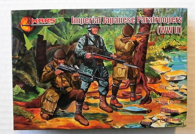 72109 IMPERIAL JAPANESE PARATROOPERS