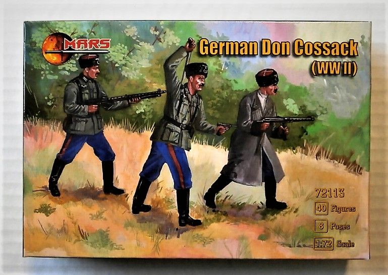 72113 GERMAN DON COSSACK WWII