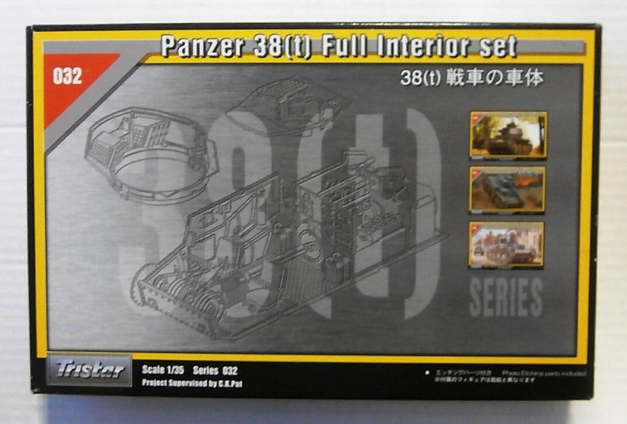 35032 PANZER 38 T  FULL INTERIOR SET