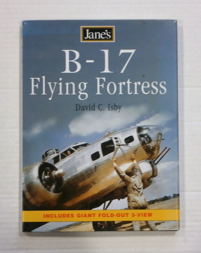 ZB1352 JANES B-17 FLYING FORTRESS - DAVID C. ISBY