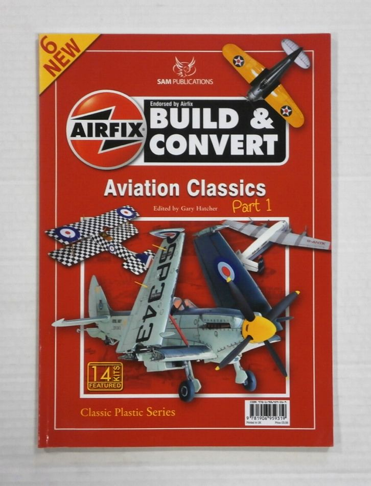 ZB1344 AIRFIX BUILD   CONVERT AVIATION CLASSICS NO 6