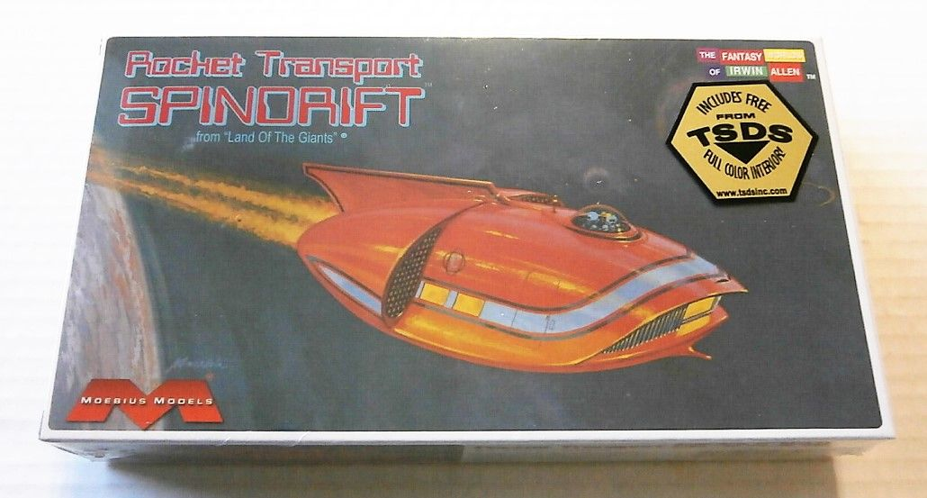 255 ROCKET TRANSPORT SPINDRIFT FROM LAND OF THE GIANTS