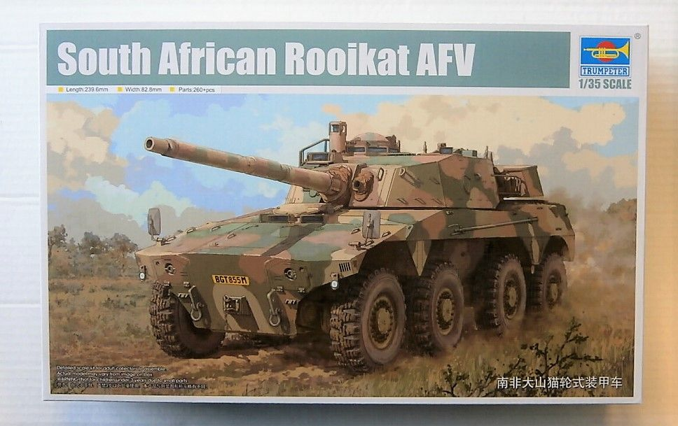 09516 SOUTH AFRICAN ROOIKAT AFV
