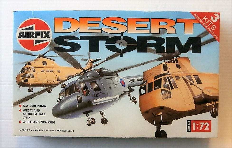 3901 DESERT STORM-PUMA/LYNX/SEA KING