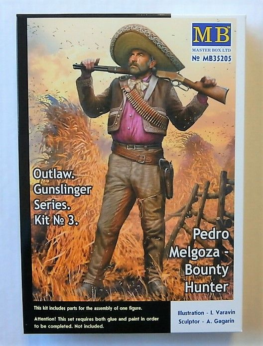 35205 OUTLAW GUNSLINGER SERIES 3 - PEDRO MELGOZA BOUNTY HUNTER