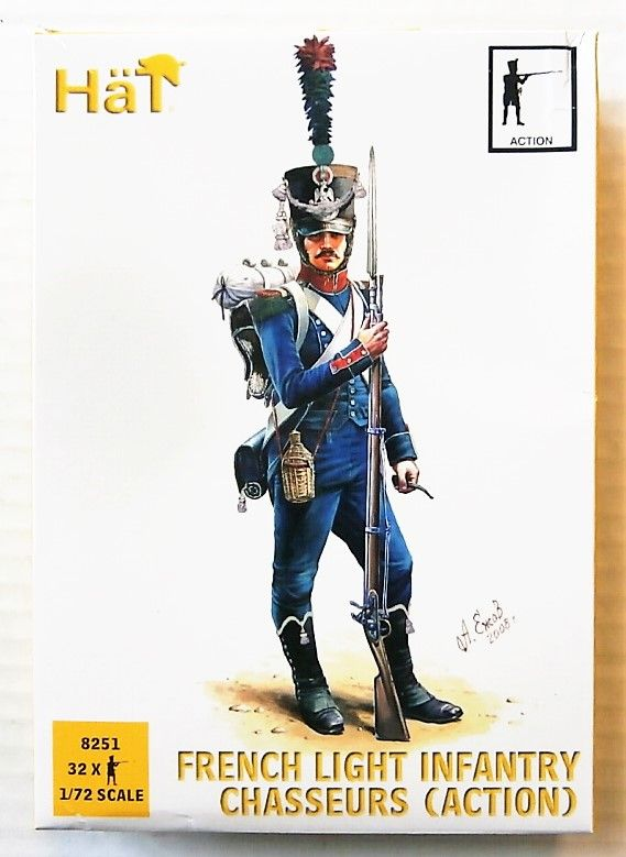 8251 FRENCH LIGHT INFANTRY CHASSEURS  ACTION