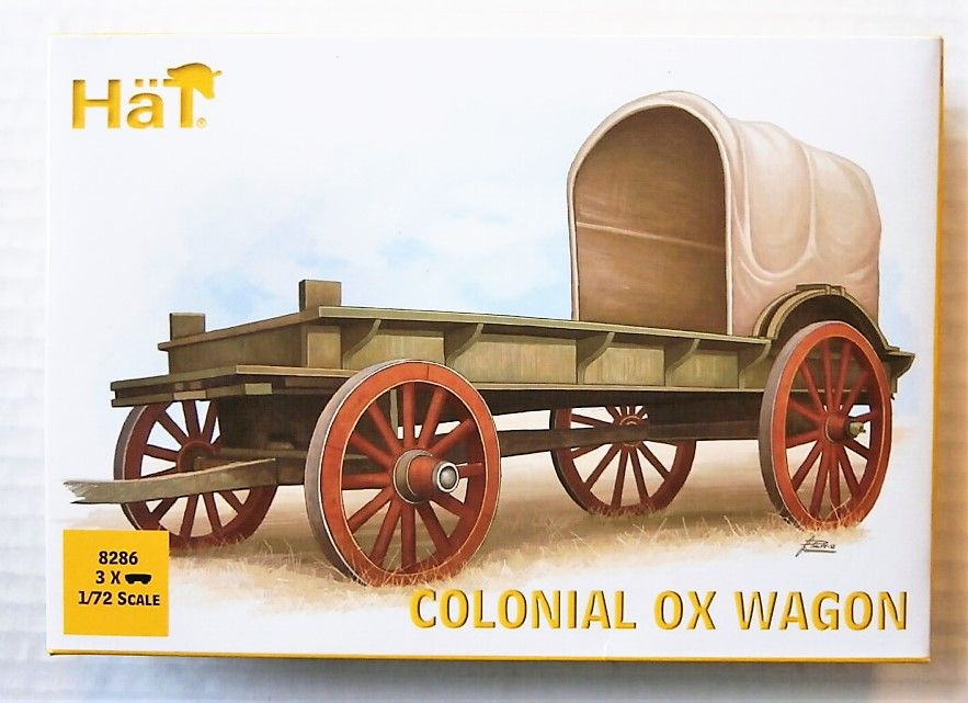 8286 COLONIAL OX WAGON