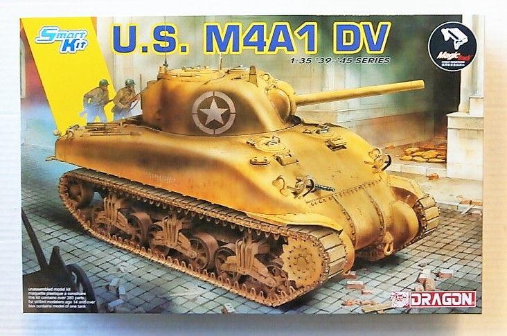 DRAGON 1/35 6618 U S  M4A1 DV