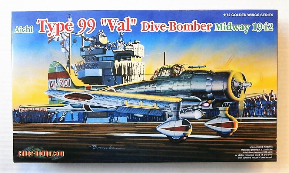 5107 AICHI VAL TYPE 99 DIVE-BOMBER MIDWAY 1942