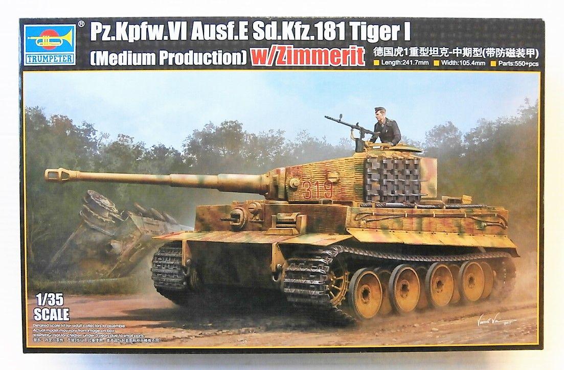 09539 Pz Kpfw Vi Ausf E Sd Kfz 181 Tiger I Med Prod With
