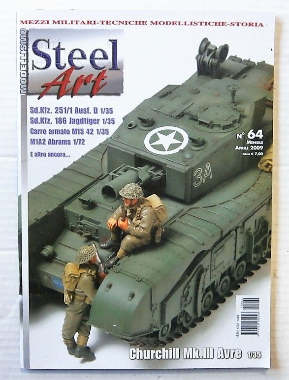 ZB2419 MODELLISMO STEEL ART No 64 APRIL 2009  ITALIAN TEXT