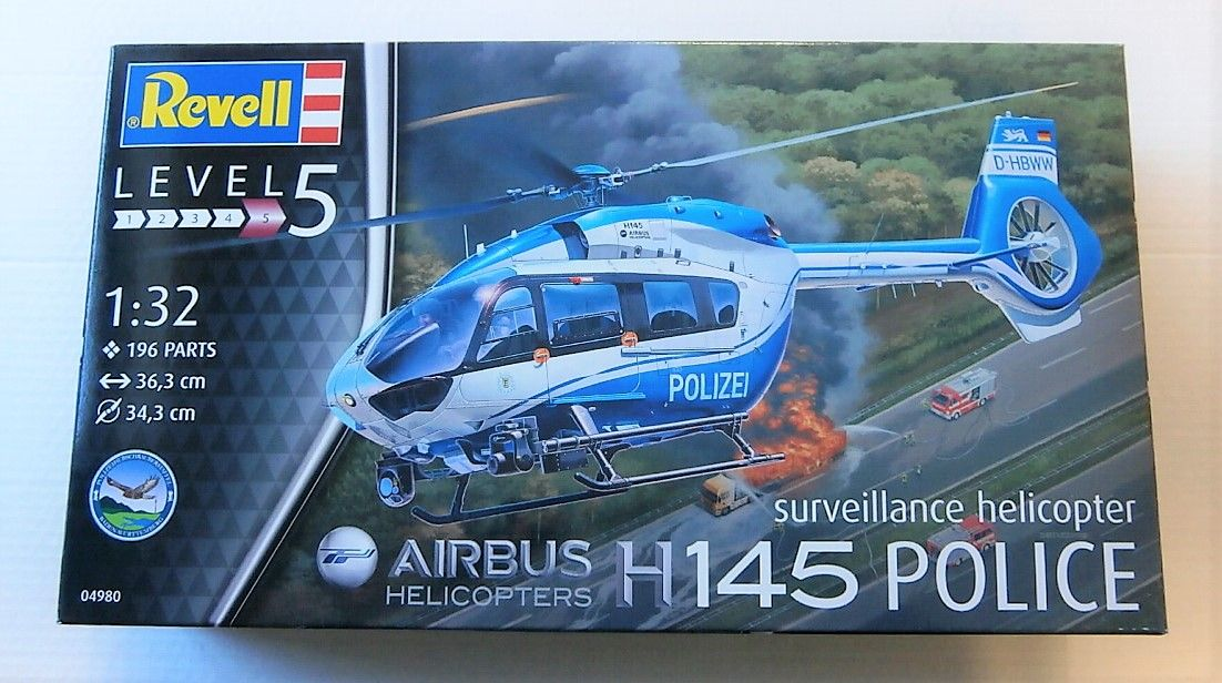 04980 AIRBUS H145 POLICE SURVEILLANCE HELICOPTER