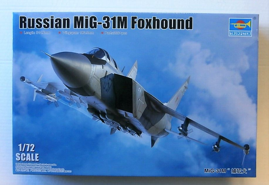 01681 RUSSIAN MIG-31M FOXHOUND
