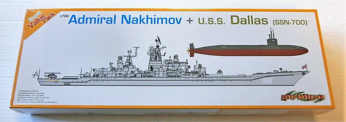 7112 ADMIRAL NAKHIMOV AND U.S.S. DALLAS  SSN-700