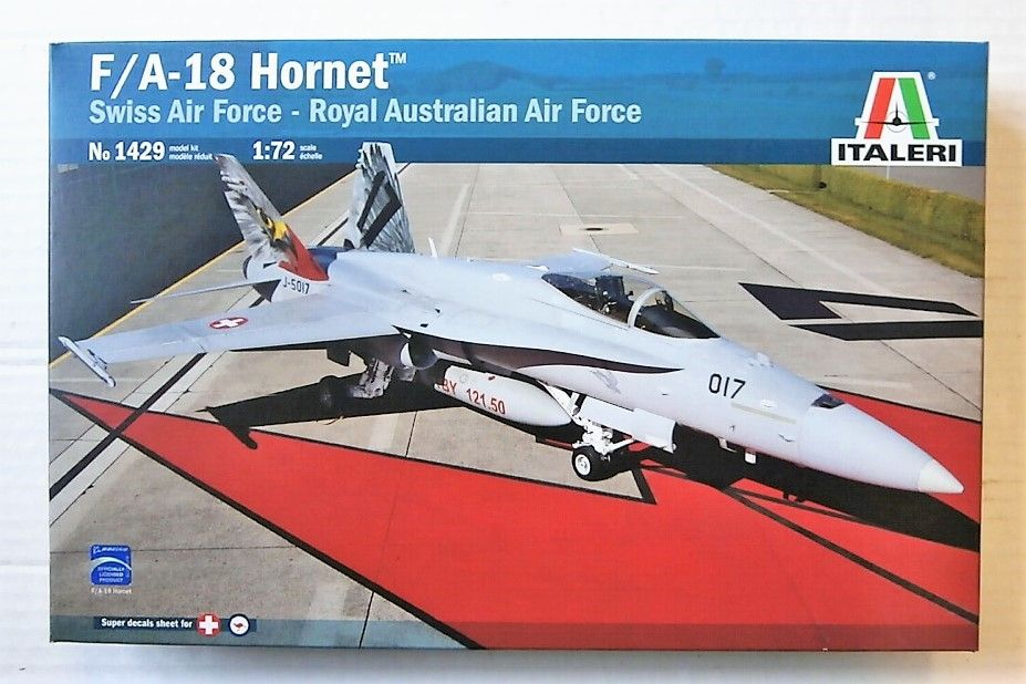 1429 F/A-18 HORNET  SWISS AIR FORCE AND ROYAL AUSTRALIAN AIR FORCE