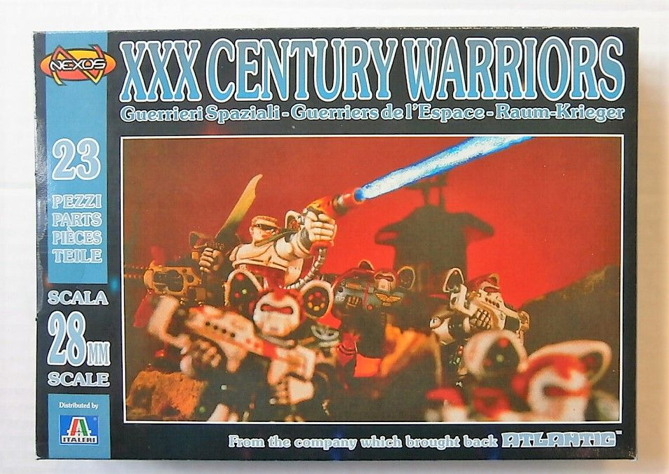 SF002XXX CENTURY SPACE WARRIORS