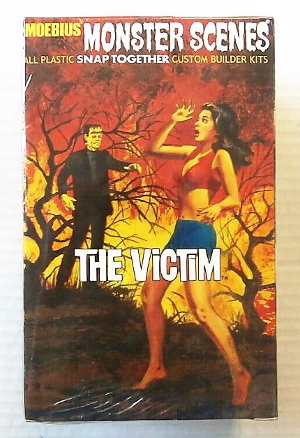 632 MONSTER SCENES - THE VICTIM