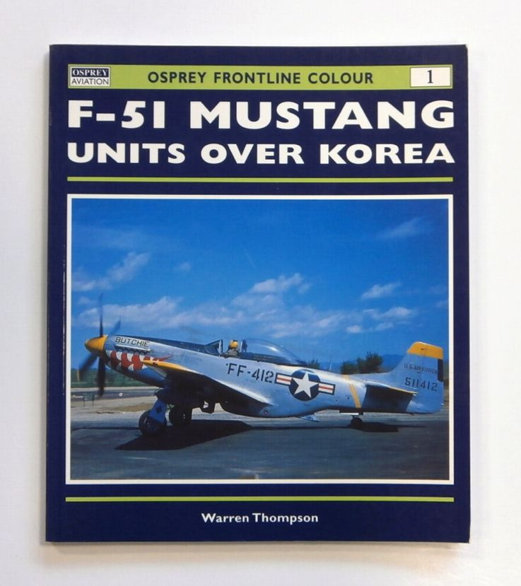 Cheap Books Zb1633 Osprey Frontline Colour 1 - F-51 Mustang Units ...