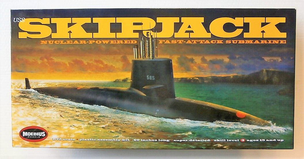 MOEBIUS 1/72 1400 USS SKIPJACK (UK SALE ONLY)