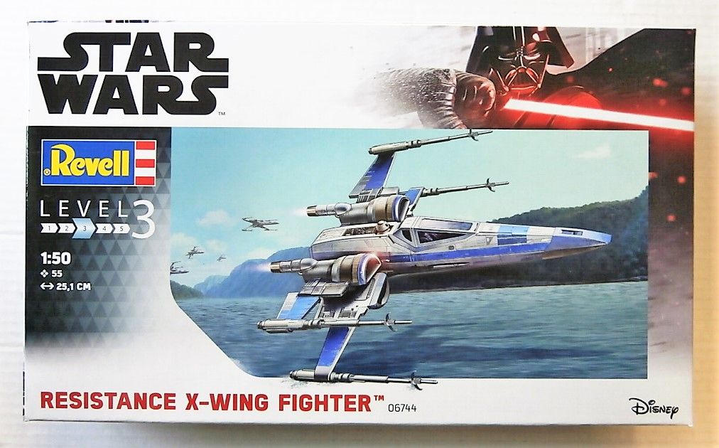 06744 STAR WARS RESISTANCE X-WING FIGHTER
