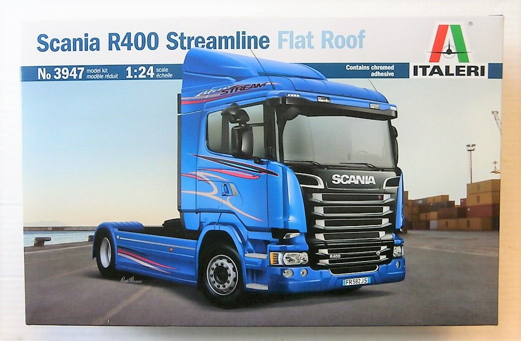 3947 SCANIA R400 STREAM LINE FLAT ROOF