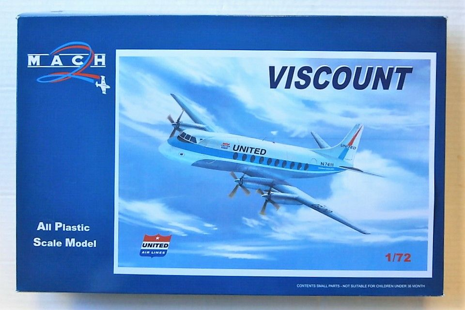GP101 UNITED AIRLINES VISCOUNT