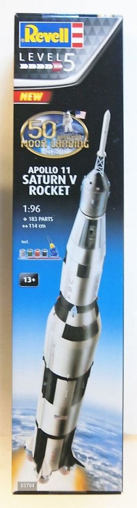 03704 APOLLO 11 SATURN V ROCKET 50TH ANNIVERSARY OF THE MOON LANDING  UK SALE ONLY